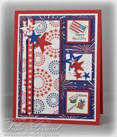 MOJO246, Celebrate America! by PaperPunchScissors - Cards and Paper Crafts at Splitcoaststampers