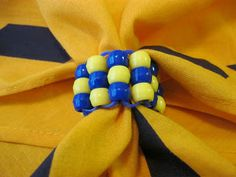 A Handful of Everything: Bead Cub Scout Neckerchief Slide