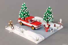 The Perfect Tree - Halloween Village - Lego Lego Christmas Train, Lego Christmas Village, Lego Winter Village, Halloween Village, Lego Minecraft, Lego Moc, Lego Disney, Christmas Holidays, Christmas Tree
