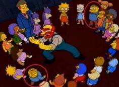 """Why was Ralph in Bart's class during certain episodes and in Lisa's class during others? 