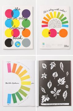 the color-play coloring book from MoMA