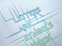split fountain typography