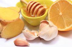 Jengibre y ajo con miel para 8 dolencias comunes