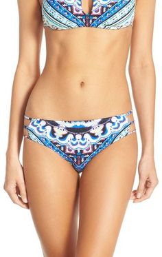 $34 The Bikini Lab 'Gypset' Reversible Bikini Bottoms