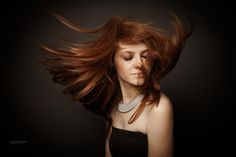 Jess in the wind by yannick faure on 500px