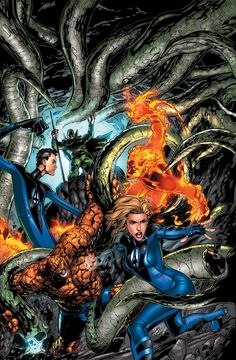 Ultimate Fantastic Four by Carlo Pagulayan