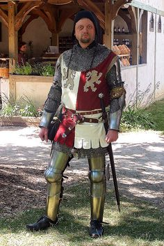 Interpretation of a mid- to late-14th century knight.