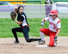 """NFA walks off with softball victory over Fitch - """"It's one of those things where we talk about having perseverance, being tenacious, really digging down deep and playing the seven innings and not giving up and that was the case."""" Read more: http://www.norwichbulletin.com/sports/20170507/nfa-walks-off-with-softball-victory-over-fitch #CT #NFA #Fitch #Softball #Ctsports #Sports #HSSoftball"""