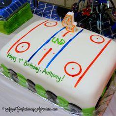 Amy's Confectionery Adventures: Hockey Cakes