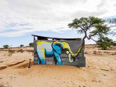 From the of May to the of October last year, Cape Town graffiti artist. - Graffiti and Street Art - 3d Street Art, Street Art Graffiti, Street Artists, Graffiti Artists, Graffiti Wall, New York Graffiti, South African Artists, Colossal Art, Street Signs