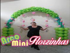 Como Fazer Arco de Balões FLORAL 2
