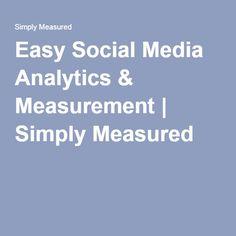 Easy Social Media Analytics & Measurement   Simply Measured
