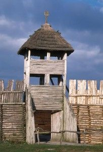 Biskupin is the most famous archeological site in Poland and one of the best sites in Europe. The site was reconstructed and serves as a life-size model of Iron Age fortified settlement. The site was probably established before 700 BC.