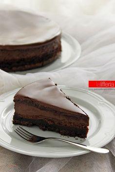 Nutella and chocolate tart/cake - Italian Recipe Nutella Recipes, Sweets Recipes, Chocolate Recipes, Cake Recipes, Cake Cookies, Cupcakes, Fig Cake, Nutella Cake, Nutella Mousse