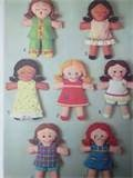 Image detail for -Vintage 1972 Simplicity 13 Rag Doll Pattern by elyse72 on Etsy