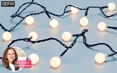 Kodin1, Elämäni koti, Tea-Mariia Pyykönen suosittelee, Anno-LED-pallovalosarja #elamanikoti