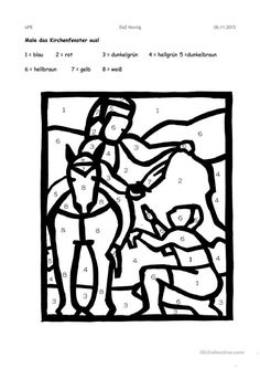 Saint Martin - Knowledge of the skill of knowledge Kindergarten Portfolio, Kindergarten Worksheets, Hl Martin, Martin Von Tours, Jesus Is Life, Sunday School, Artificial Intelligence Systems, Coloring Pages, Sint Maarten