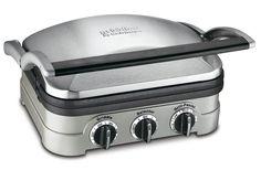 Griddler Cuisinart grill panini press nonstick plates indoor brand   countertop #Cuisinart