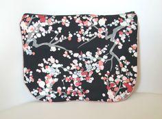 Pochette tissu  japonais Frenesie et moi.