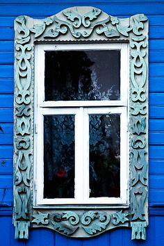 Russian House Windows.