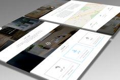 طراحی وب سایت تک صفحه ای شرکت مزو.