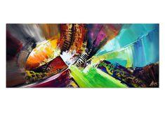 "abstrakte Galerie Kunst ""Boundaries II"" Unikat im Panoramaformat von Dieu International Artist, Contemporary Paintings, Modern Art, Modern Pictures, Modern Paintings, Abstract Pictures, Abstract Art, Canvas Frame, Contemporary Art"