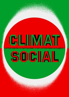 """Sébastien Marchal - """"Climat Social"""" - Autocollant 2014"""
