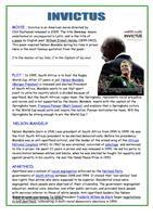1 FREE ESL 'apartheid' 'Nelson Mandela' 'South Africa' worksheets