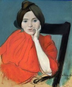 Louis Anquetin (French artist, 1861–1932) Portrait of a Woman 1890