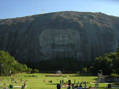 stone mountain/images | Stone Mountain, the largest exposed granite face in the world