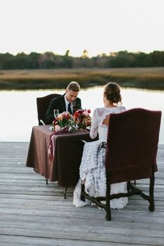 Southern Wedding with Fashion Decor Elements