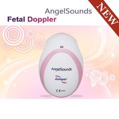 awesome Bolso cor-de-rosa pequeno Doppler Fetal de Angelsounds da cor para o sinal Fetal JPD-100Smini do coração de Transmiting