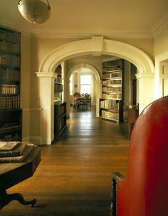 Jefferson library at Monticello