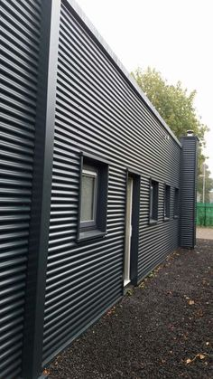 Things To Keep In Mind Before Considering Home Renovation Contract – Home Dcorz House Cladding, House Siding, Facade House, Wall Cladding, Garage Design, House Design, Steel Frame House, Tin House, Casas Containers