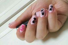 * 핑크계열 폴리쉬 * 고양이 스탬프 * 스톤