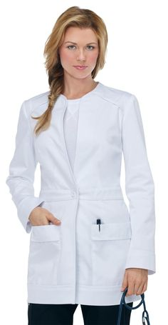66 ideas medical doctor outfit fashion lab coats for 2019 Doctor White Coat, Doctor Coat, Healthcare Uniforms, Medical Uniforms, Scrubs Outfit, Scrubs Uniform, Koi Scrubs, Lab Coats, Medical Scrubs
