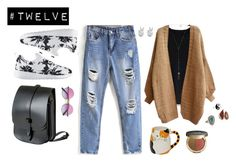 """""""#twelve"""" by hayescomet on Polyvore featuring Chicwish, NIKE, Accessorize, Moritz Glik, Melissa Joy Manning, Natalie B, Lost Property of London, Rock 'N Rose and Ciaté"""