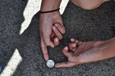 Wanna prank your kids? Glue a quarter to the ground while they are at school. Watch the hilarity!!