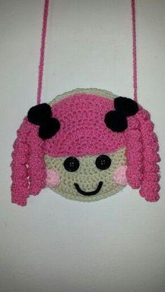 57 Ideas Crochet Kids Bag Girls Purse Patterns For 2019 Crochet Purse Patterns, Crochet Motif, Knitting Patterns, Crochet Girls, Crochet For Kids, Crochet Baby, Crochet Handbags, Crochet Purses, Crochet Mittens