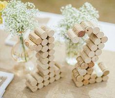 wine cork table numbers