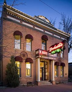 Historic downtown Durango, Colorado lodging at the Rochester Hotel offering Old West accommodations near Purgatory Ski Resort, Silverton Narrow Gauge Railroad and Mesa Verde, CO. | dev.rochesterhotel.com