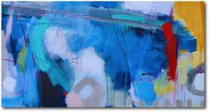 «Freshness» – akryl på lerret - 153x81 cm. Kunstner - Ira Ivanova. Original - utstilt hos Galleri SG. Tilgjengelig som kunsttrykk