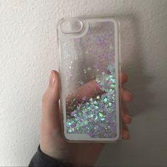 Glitter fart iPhone 5/5s Glitter clear case