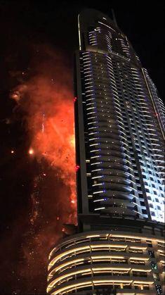 The Address Hotel fire | Dubai 2016 | UAE - YouTube