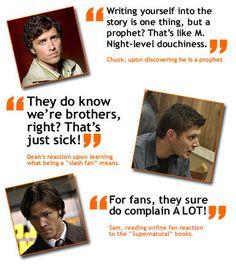 Supernatural Funny Quotes | Supernatural quotes picture - Supernatural Quotes Photo (7056689 ...