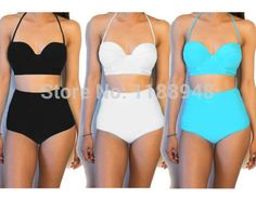 summertime..i love the shape of the top..the bottoms not so much..might be useful to swim laps in