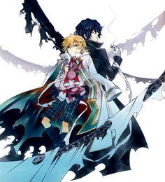 Gilbert-kun and Oz-sama ❤️ Pandora Hearts : Original Artwork