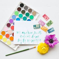Courtney Shannon of POPPYjack SHOP is making all of our calligraphy dreams come true!