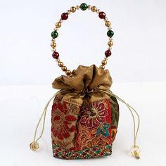 Multi Colour Potli Bag