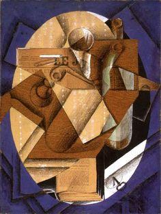 Juan Gris, the table on ArtStack #juan-gris #art